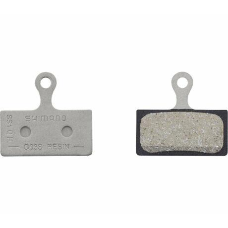 SHIMANO tárcsafékbetét G03A Resin XTR/XT/SLX/Alfine - 1 pár