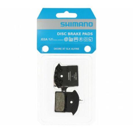 SHIMANO tárcsafékbetét J03A Resin hűtőbordás Icetech M9000/9020/985/785 - 1 pár