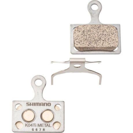 SHIMANO tárcsafékbetét K04TI Metal Dura-Ace/Ultegra/105/Tiagra/GRX - 1 pár