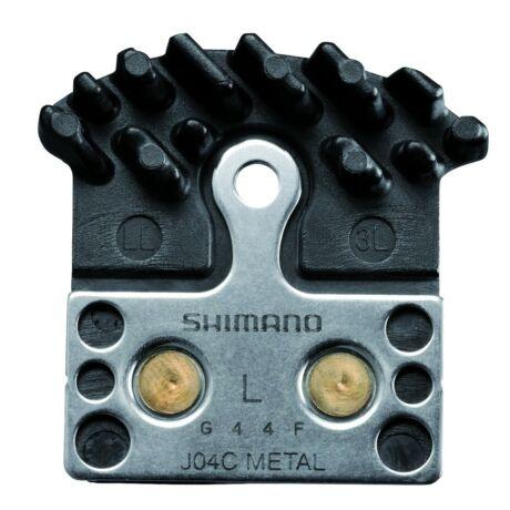 SHIMANO tárcsafékbetét J04C Metal hűtőbordás Icetech XTR/XT/SLX/Alfine - 1 pár