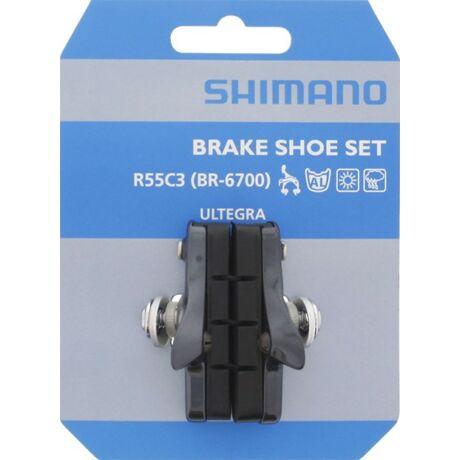 SHIMANO országúti fékbetét BR6700-G R55C3 szürke - 1 pár