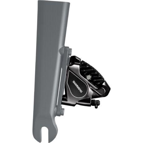 SHIMANO ULTEGRA RS805 ELSŐ hidraulikus tárcsafék hűtőbordás Resin betéttel