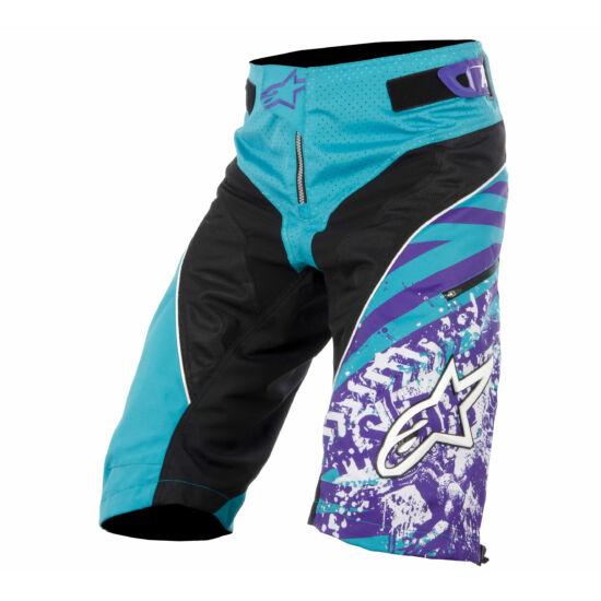 """ALPINESTARS rövid nadrág GRAVITY SHORT blue marine/violet """"48"""""""