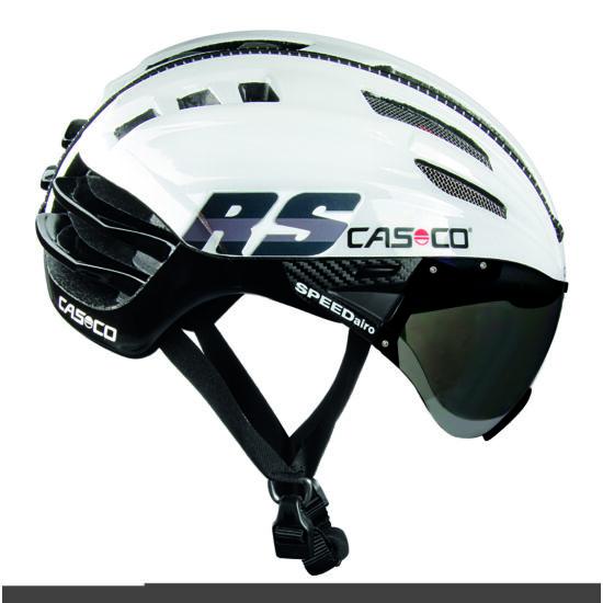CASCO SPEEDairo RS Fehér-fekete bukósisak lencsével