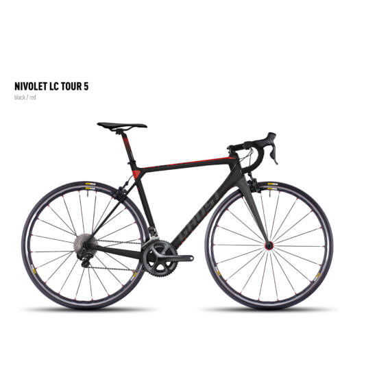 GHOST Nivolet Tour LC 5 black/red